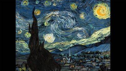 「Starry Night Interactive Animation」のスクリーンショット 1枚目