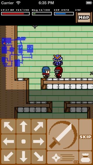 「Rogue Ninja - ローグライクRPG」のスクリーンショット 1枚目