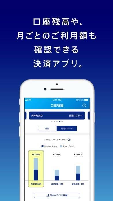 「みずほWallet  みずほ銀行の口座直結スマホ決済アプリ」のスクリーンショット 3枚目