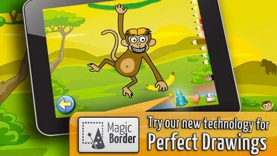 「サバンナ:子供のためのパズルとカラー , 知育 ぱずる, 幼児 知育 無料 子ども向け ゲーム 無料」のスクリーンショット 3枚目