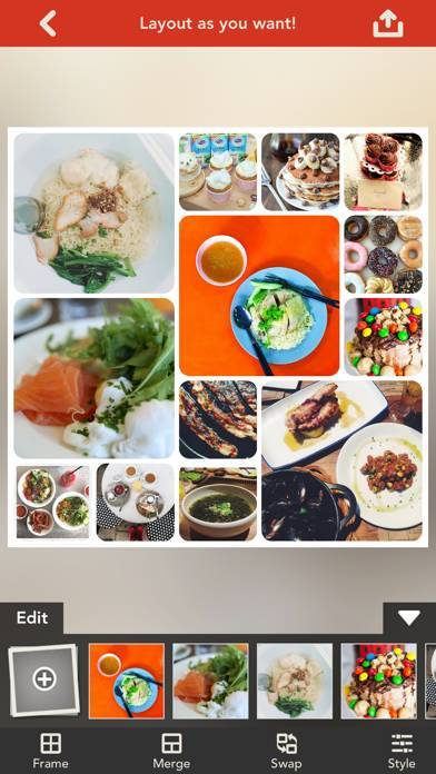 「Frame Artist Pro - Photo Collage Editor, Pic Stitch with Pic Frame Templates & Filter Effects (フレーム),  合成写真, コラージュ 作成, 文字入れ」のスクリーンショット 1枚目
