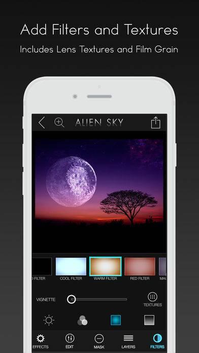 「Alien Sky - Space Camera」のスクリーンショット 3枚目