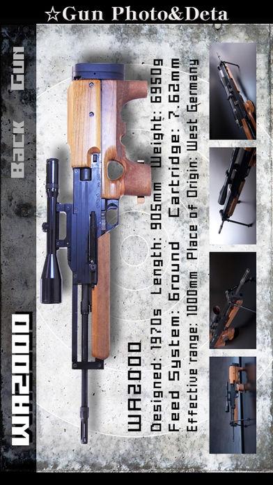"""「立体銃図鑑&射撃(ゲーム付)""""Real Gun Sp 360°Lite""""無料壁紙待受高画質銃画像」のスクリーンショット 2枚目"""