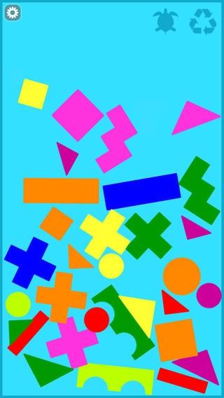 「カラフルつみき - 知育アプリで遊ぼう 子ども・幼児向け無料アプリ」のスクリーンショット 1枚目