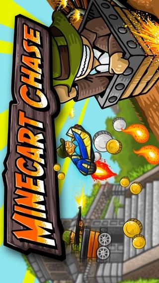 「Minecart Chase」のスクリーンショット 1枚目