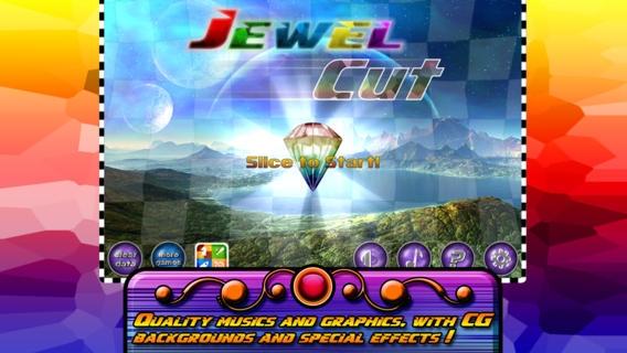 「Jewel Cut Ninja」のスクリーンショット 1枚目