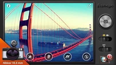 「Fisheye Pro - LOMO Lens Camera」のスクリーンショット 3枚目