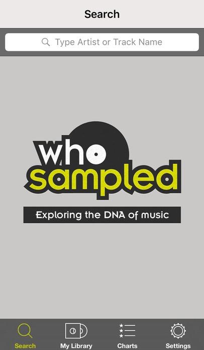「WhoSampled」のスクリーンショット 1枚目