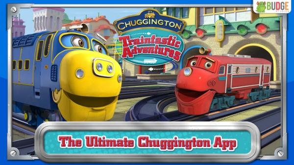 「チャギントンのすばらしいアドベンチャー - 子供たちのためのトレーンセット無料ゲーム」のスクリーンショット 1枚目