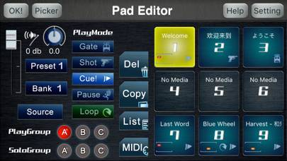 「CueZy 9 Pad Sampler」のスクリーンショット 3枚目