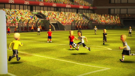 「Striker Soccer Euro 2012: dominate Europe with your team」のスクリーンショット 2枚目