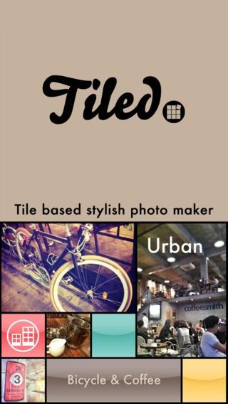 「Tiled - modern frame app」のスクリーンショット 1枚目