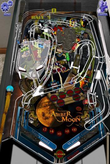 「Dream Pinball 3D」のスクリーンショット 1枚目