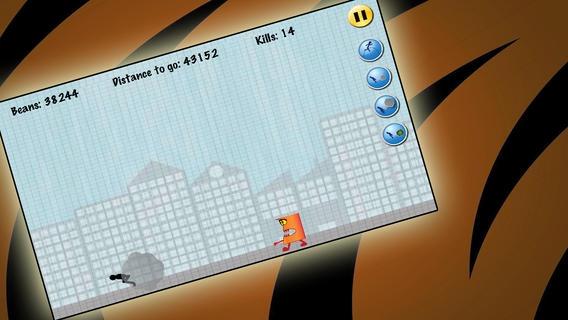 「無料ゲーム:おならスティックマン Farting stickman game free」のスクリーンショット 1枚目