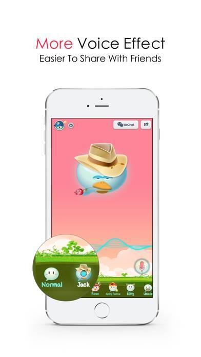 「WeChat Voice」のスクリーンショット 3枚目