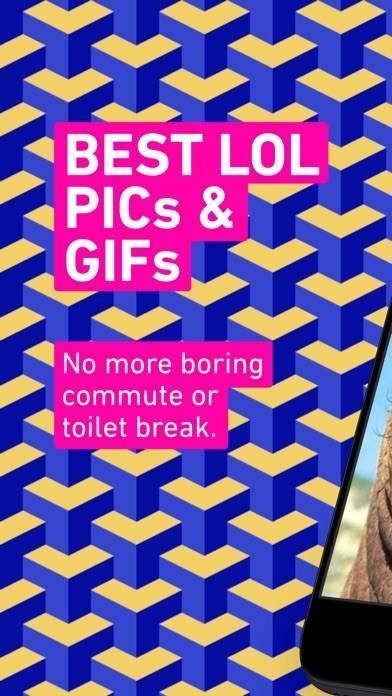 「9GAG: Best LOL Pics & GIFs」のスクリーンショット 1枚目