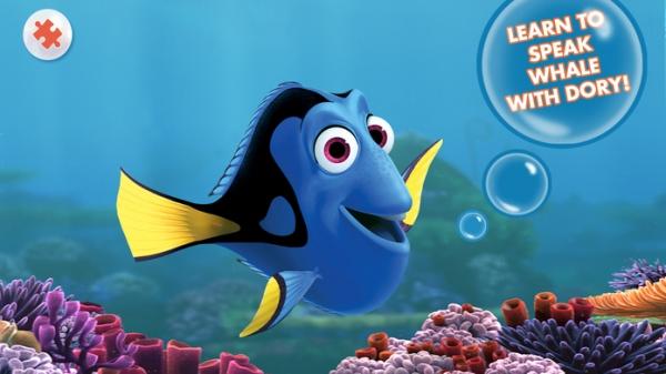 「Finding Nemo Storybook Deluxe」のスクリーンショット 1枚目
