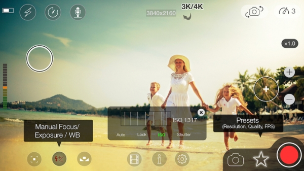 「MoviePro : Video Recorder with Limitless options」のスクリーンショット 2枚目
