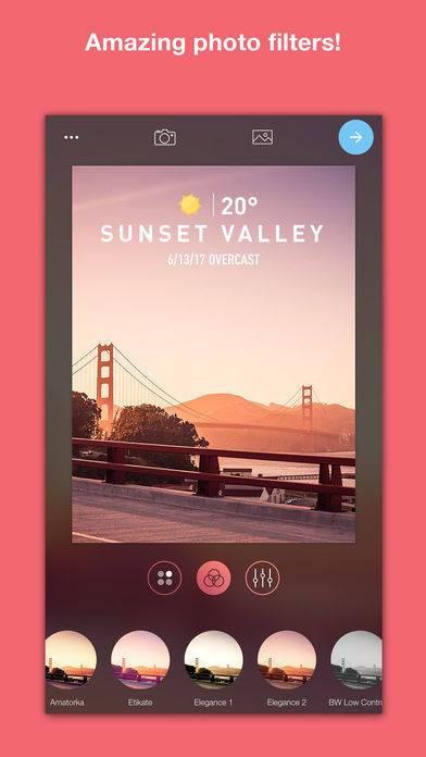 「WeatherShot Pro」のスクリーンショット 3枚目