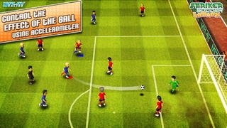 「Striker Soccer London: your goal is the gold」のスクリーンショット 3枚目