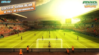 「Striker Soccer London: your goal is the gold」のスクリーンショット 1枚目