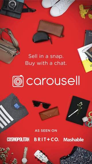 「Carousell - Snap to Sell, Chat to Buy」のスクリーンショット 1枚目