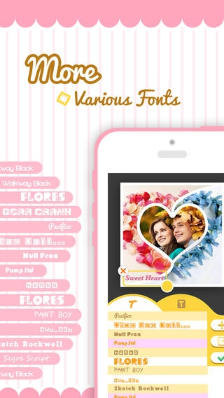 「Pic-Frame Grid, Picture Collage Maker & Photo Editor Effects」のスクリーンショット 3枚目