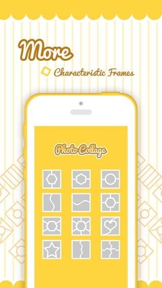 「Pic-Frame Grid, Picture Collage Maker & Photo Editor Effects」のスクリーンショット 2枚目