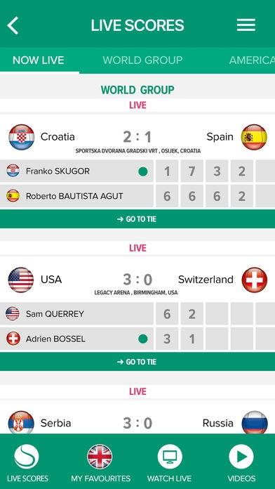 「Davis Cup」のスクリーンショット 2枚目