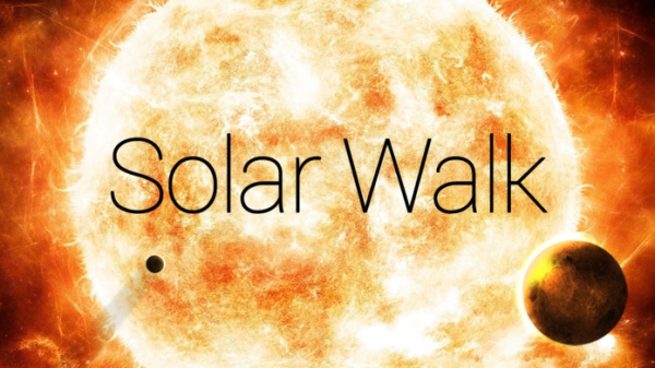 「Solar Walk™ Free - Planets of the Solar System」のスクリーンショット 1枚目
