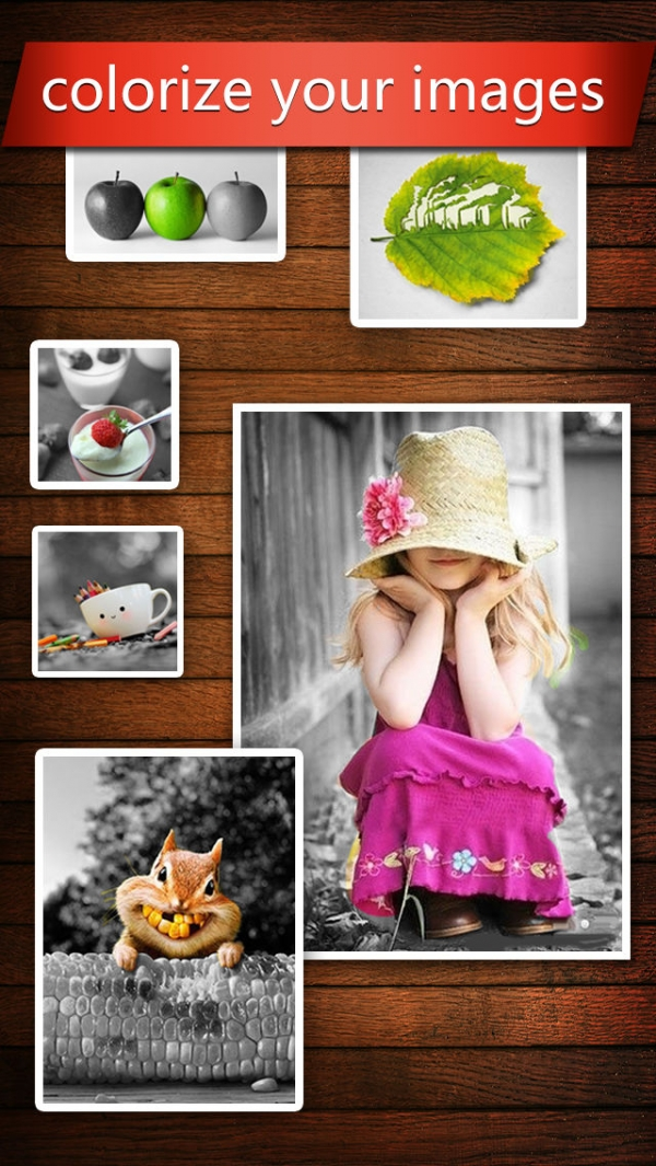 「Color Effects HD (Recolor Your Photos & Draw Beautiful Splash Art)」のスクリーンショット 1枚目