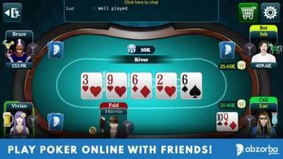「Poker Live Omaha & Texas」のスクリーンショット 2枚目