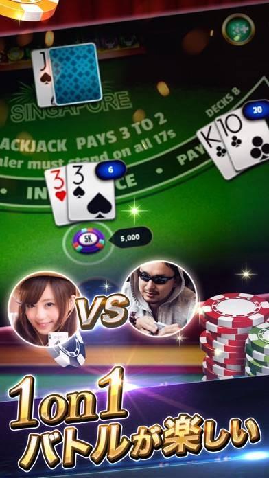 「ブラックジャック21:オンラインカジノのカードゲーム」のスクリーンショット 3枚目