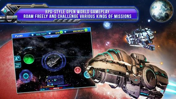「Galactic Phantasy Prelude」のスクリーンショット 3枚目