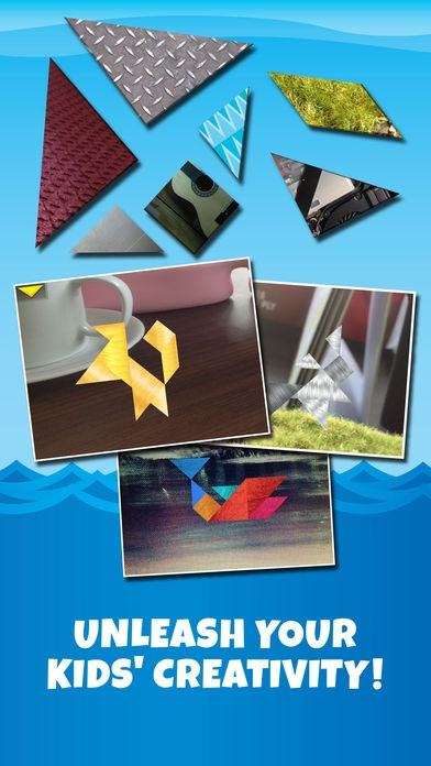 「Kids Learning Puzzles: Ships & Boats, K12 Tangram」のスクリーンショット 3枚目