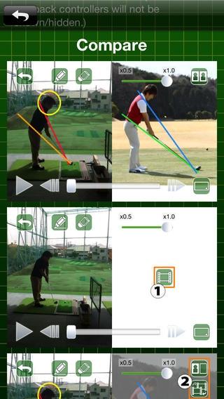 「ゴルフスイングチェッカー plus」のスクリーンショット 3枚目
