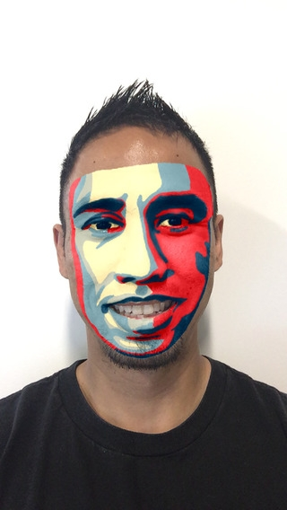 「Mojo Masks - Add Fun Face FX to your photos/videos and share」のスクリーンショット 3枚目