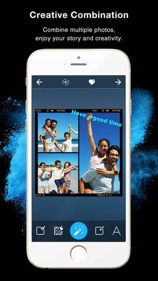 「Framatic - Photo Collage Pic Editor for Instagram」のスクリーンショット 1枚目