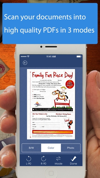 「AnyScan - Quick PDF Scanner for Multipage documents」のスクリーンショット 2枚目