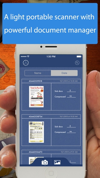 「AnyScan - Quick PDF Scanner for Multipage documents」のスクリーンショット 1枚目