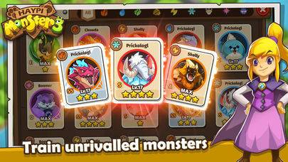 「Haypi Monster 3」のスクリーンショット 3枚目