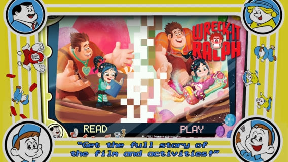 「Wreck-It Ralph Storybook Deluxe」のスクリーンショット 1枚目