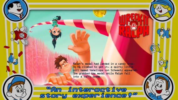 「Wreck-It Ralph Storybook Deluxe」のスクリーンショット 3枚目