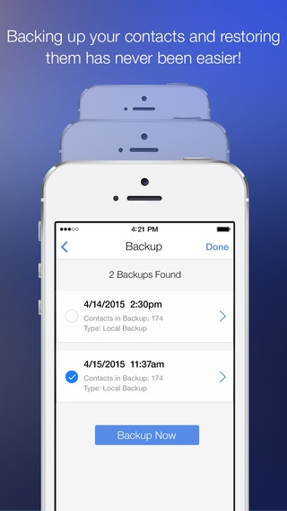 「CleanUp Suite – Quickly and easily clean duplicates from your address book」のスクリーンショット 3枚目