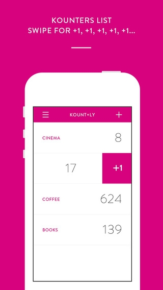 「Kount.ly : count anything and everything」のスクリーンショット 2枚目