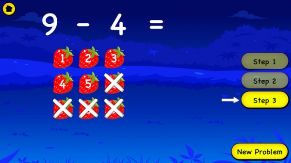 「Subtraction For Kids - Learn Basic First Grade Subtraction and With Regrouping For Second Grade」のスクリーンショット 1枚目