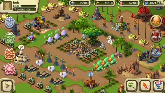 「Dinosaur War: Happy Easter!」のスクリーンショット 1枚目