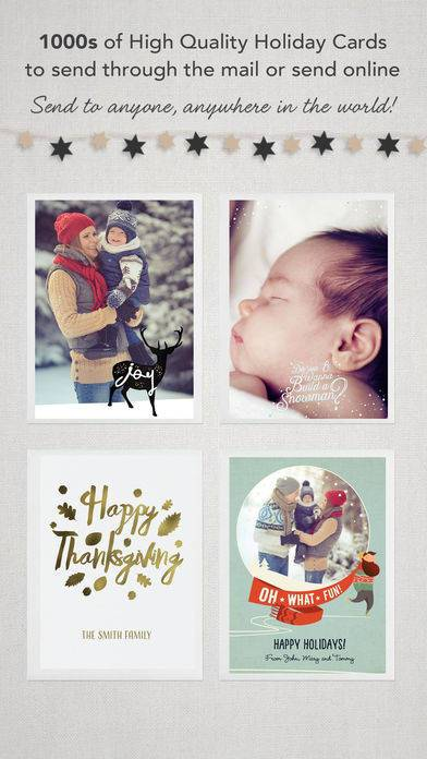 「CleverCards: Greeting Cards & eCards for Facebook」のスクリーンショット 2枚目