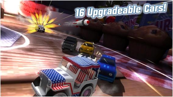 「Table Top Racing」のスクリーンショット 3枚目