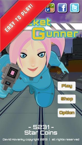 「Rocket Gunner」のスクリーンショット 1枚目